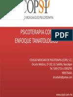 psicoterapia  tanatologica