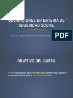 Obligaciones en Materia de Seguridad Social 30052013