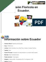 Inversión Florícola en  Ecuador res
