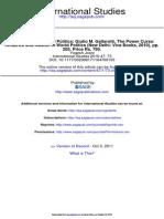 International Studies-2010-Power in International Politics