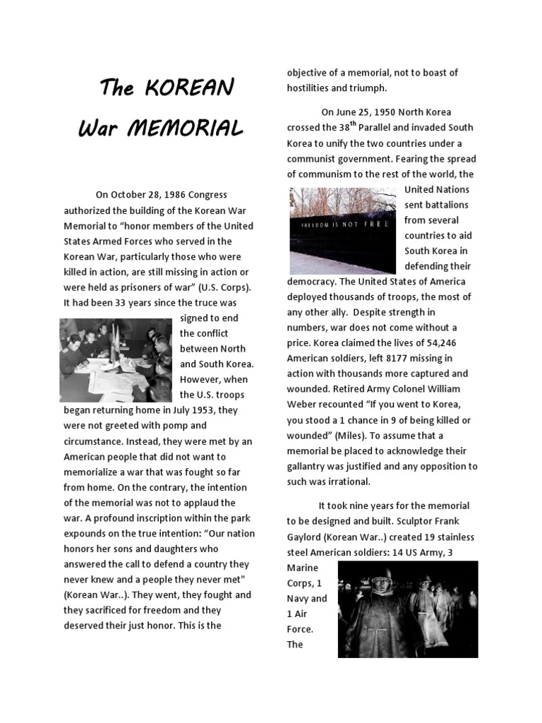 Korean War Essay Examples - Free Research Papers on blogger.com
