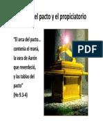 10 El Arca Del Pacto y El Propiciatoriox