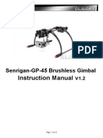 Senrigan GP 45 Brushless Gimbal Manual v1.2