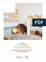 Carta Gastronomica Do Alentejo