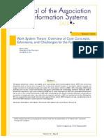 JAIS 2013 - Work System Theory