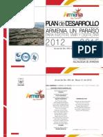 Plan de Desarrollo Armenia 2012-2015