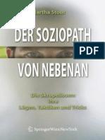 Stout, Maria - Der Soziopath Von Nebenan