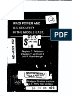 Iraqi Power & US Security Report June 05 1990