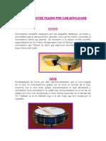 Instrumentos Traido Por Los Africanos