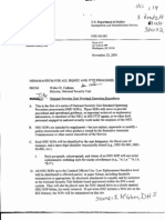 T5 B64 GAO Visa Docs 1 of 6 Fdr- 11-25-01 and 3-5-03 DOJ Memos Re NSU SOP