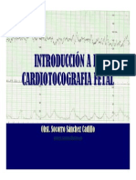 1.- Introduccion a La Cardiotocografia Fetal