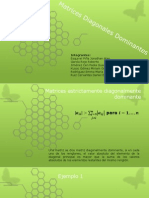 Matrices Diagonales