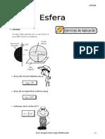 IV BIM - 5to. Año - GEOM - Guía 3 - Esfera