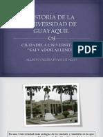 Historia de La Universidad de Guayaquil1