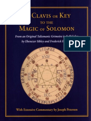 The Clavis or Key to the Magic of Solomon | Magic