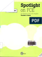 Spotlight on Fce Teacher's Book PDF
