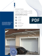 Portes de Garage Sectionnelles DoorHan Catalogue 2005