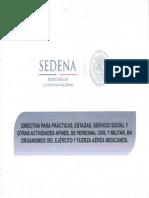 Servicio Social en La SEDENA