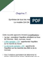 Macro Chap 7 - Le modèle OA-DA
