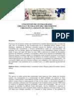 CONCEPCIÓN DE CENTRALIDADES urbanas y planeacion del crecimiento urbano en la bogota del siglo XX