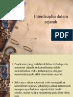 20121109231102Kuliah 6 - Interdisiplin Dalam Sejarah