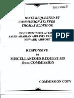 T5 B70 Saudi Flights FBI Docs 3 of 4 Fdr- Newark Airport Tab- Entire Contents- FBI Docs 690