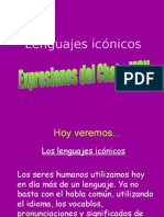 Lenguajes icónicos