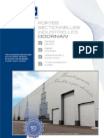 Portes Sectionnelles Industrielles DoorHan Catalogue 2005