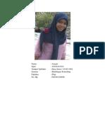Biodata Ariyati