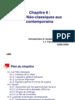 IAE Chap 6 - Des Néoclassiques aux Contemporains