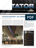 LAPD Reserve Rotator Newsletter Winter 2012