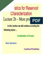 Lecture 2B More Prob