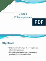 ENLACE QUÍMICO (1° A y C)