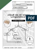 GUIA Nº3 - EL SIGNO LINGUISTICO
