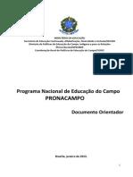 Documento Orientador Do Pronacampo