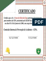Certificado   CIPA  0001