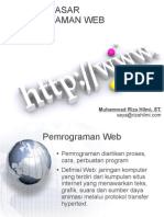 01 Pengantar Web