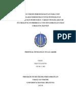 49295199 Kajian Teknis Peremuk Batuan Pada Unit Pengolahan Bijih Emas Untuk Peningkatan Produksi Dan Pemenuhan Target Pengolahan Di Pt Aneka Tambang Unit Pena