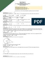 Maths 10th std CBSE Sample paper