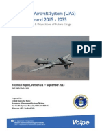 Dept. of Transportation - Unmanned Aircraft System (UAS) Service Demand 2015 – 2035