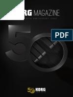 Korg Magazine 2013