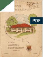 1938 QSAC Designs of Dwellings