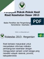 Riskesdas 2013