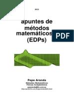 apuntes de métodos matemáticos II (EDPs) 2012