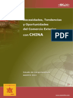 Comercio Exterior China CNC Chile