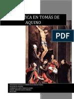 La estética en Tomás de Aquino