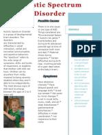 What is Autistic Spectrum Disorder?