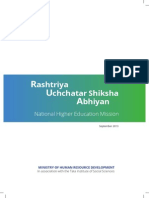 Rashtriya Uchchatar Shiksha Abhiyan (National Higher Education Mission)