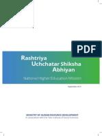 Rashtriya Uchchatar Shiksha Abhiyan (National Higher Education Mission)