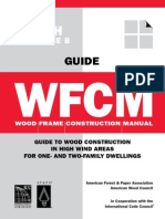 Wood Frame Construction Manual 90 MPH